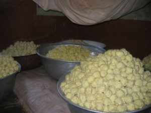 how shea butter sold in Africa